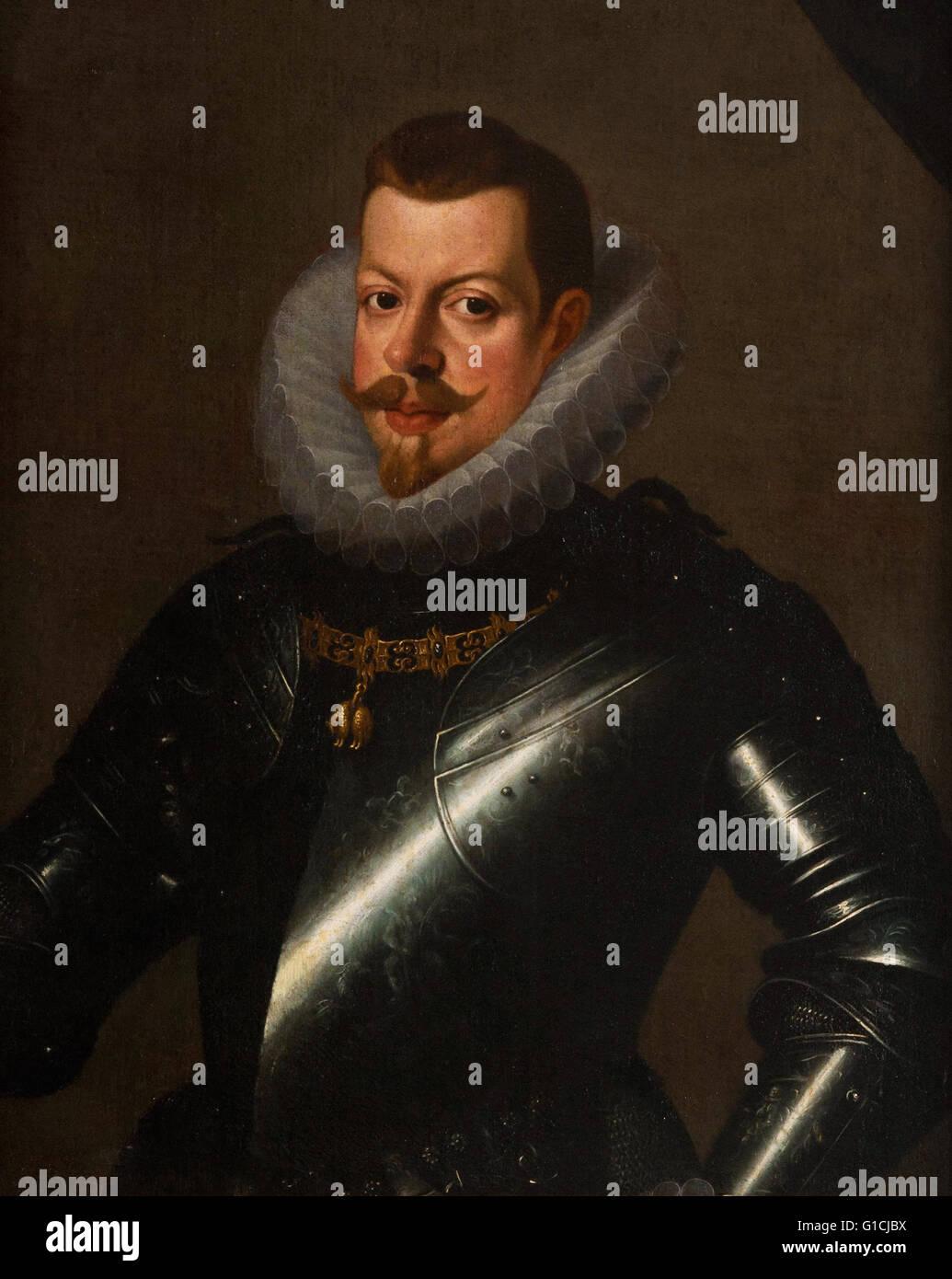 Phillip III - Casa de Cervantes Museum - Stock Image