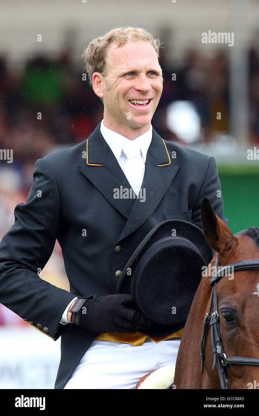 Nick Gauntlett, British Event rider and competitor at CCI**** level plus British Eventing Accredited Coach - Stock Image