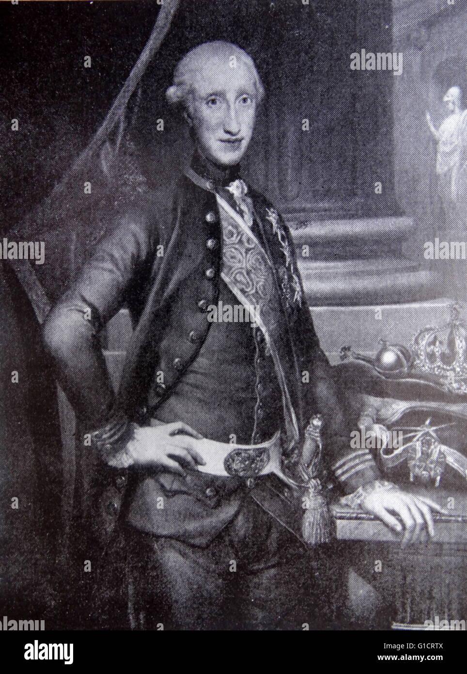 foto de Portrait of King Charles III of Spain (1716-1788) King of Spain ...