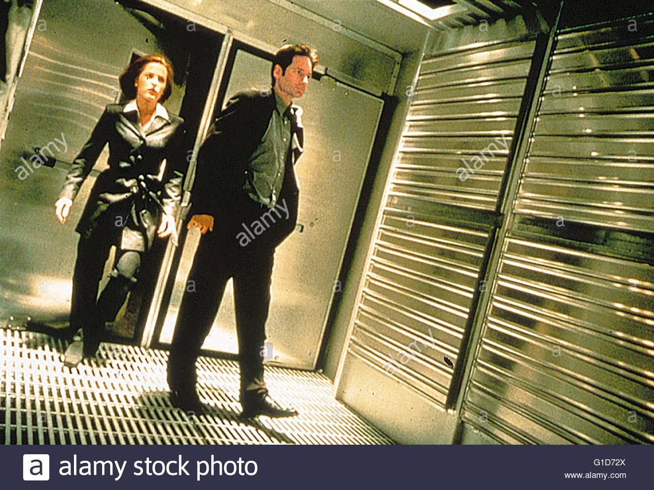 Akte X - Der Film / Gillian Anderson / David Duchovny, - Stock Image