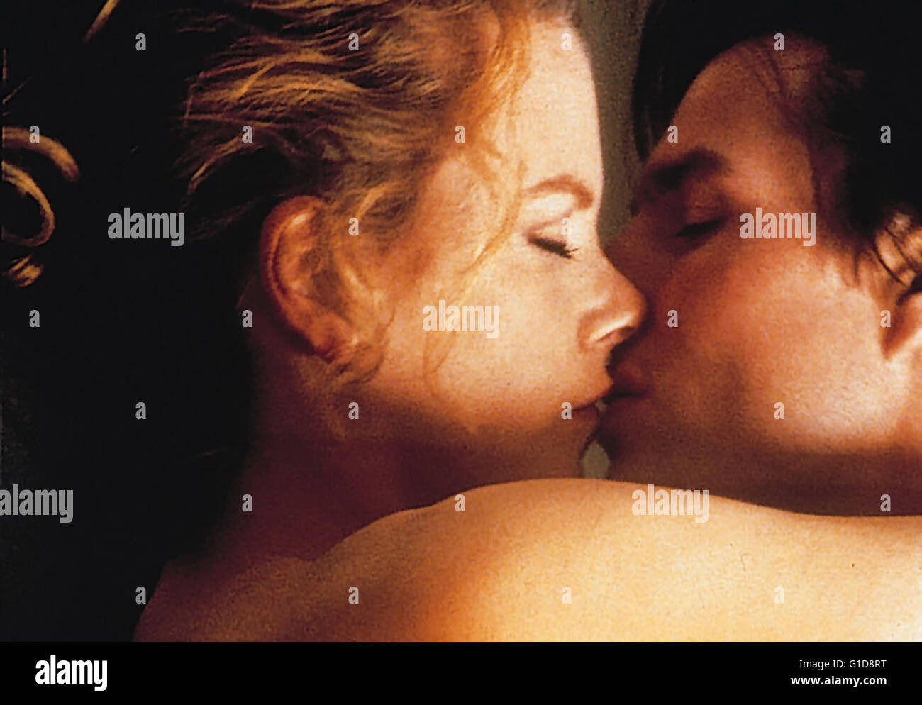 Eyes Wide Shut / Nicole Kidman / Tom Cruise, - Stock Image