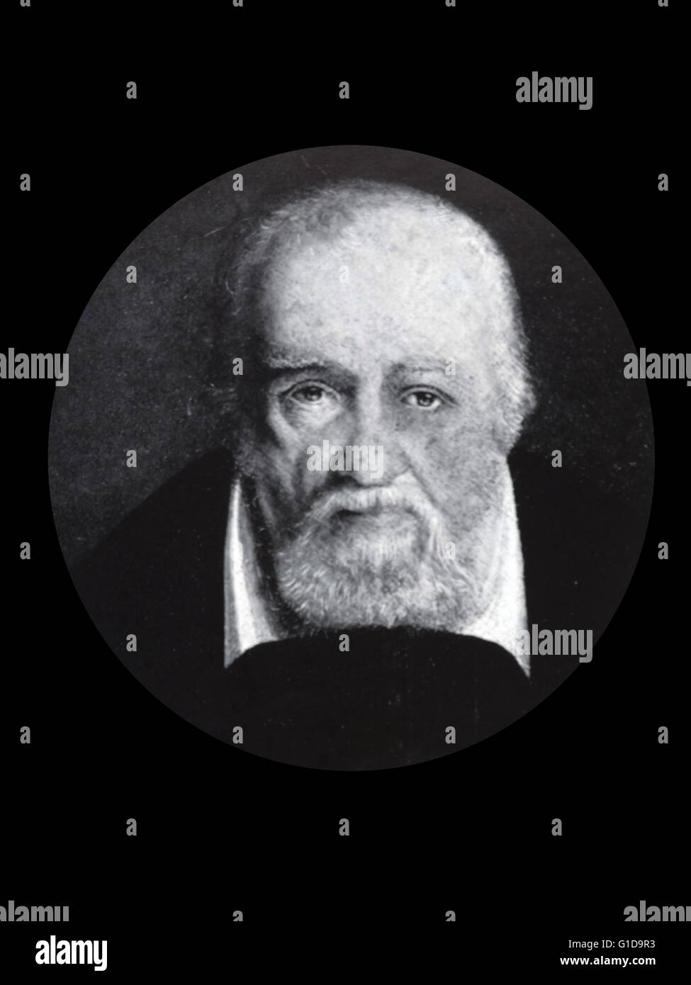 George Buchanan (1506 - 1582) was a Scottish historian as well as a respected scholar. Stock Photo