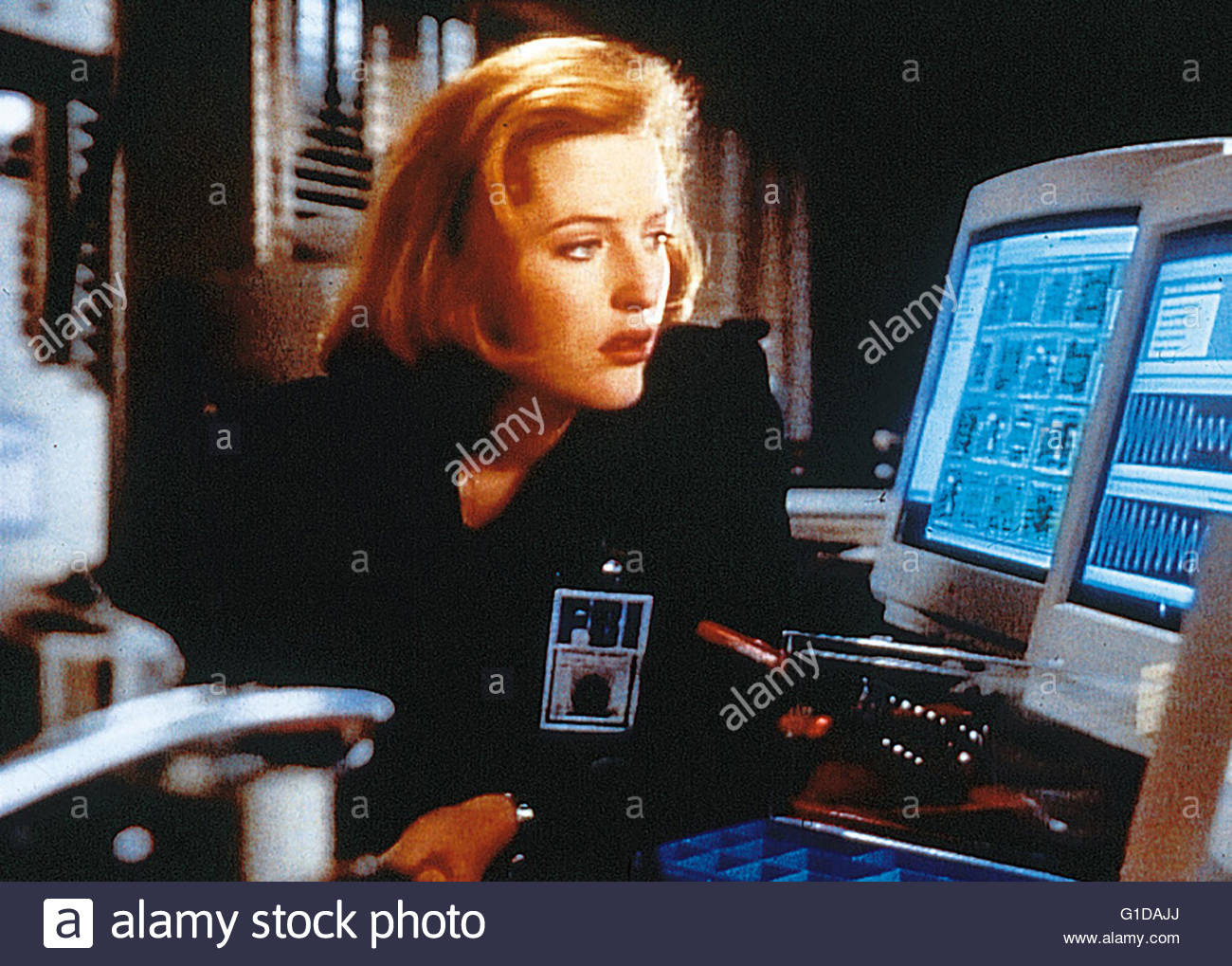 Akte X - Akte  / Gillian Anderson / The X-Files, - Stock Image