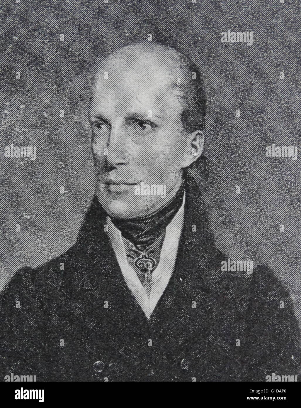 Archduke John of Austria (1782 – 1859), member of the House of Habsburg-Lorraine, was an Austrian field marshal - Stock Image