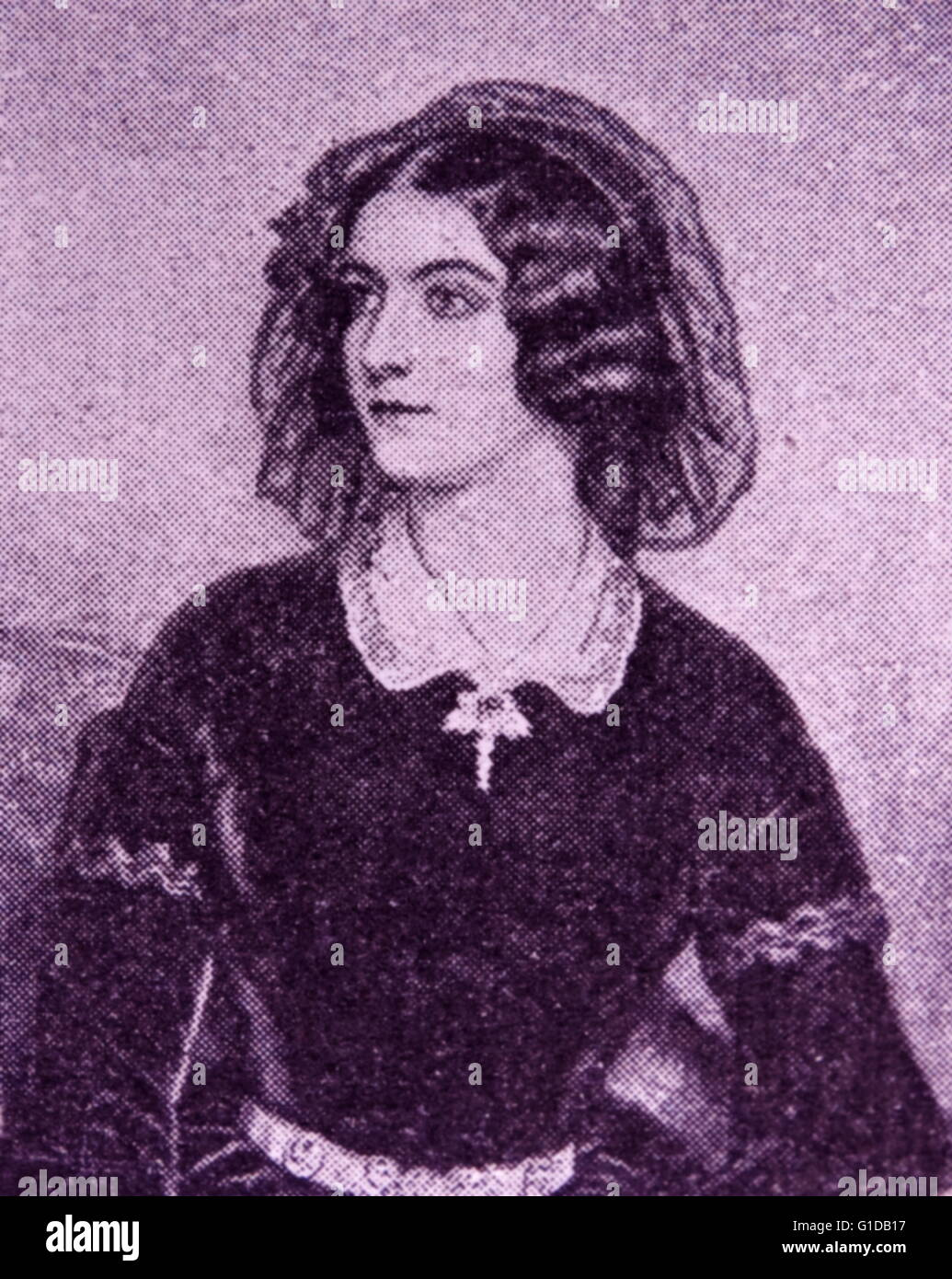 Lola Montez, the King's Favourite. Lewis I was infatuated with this Irish adventuress but eventually became - Stock Image