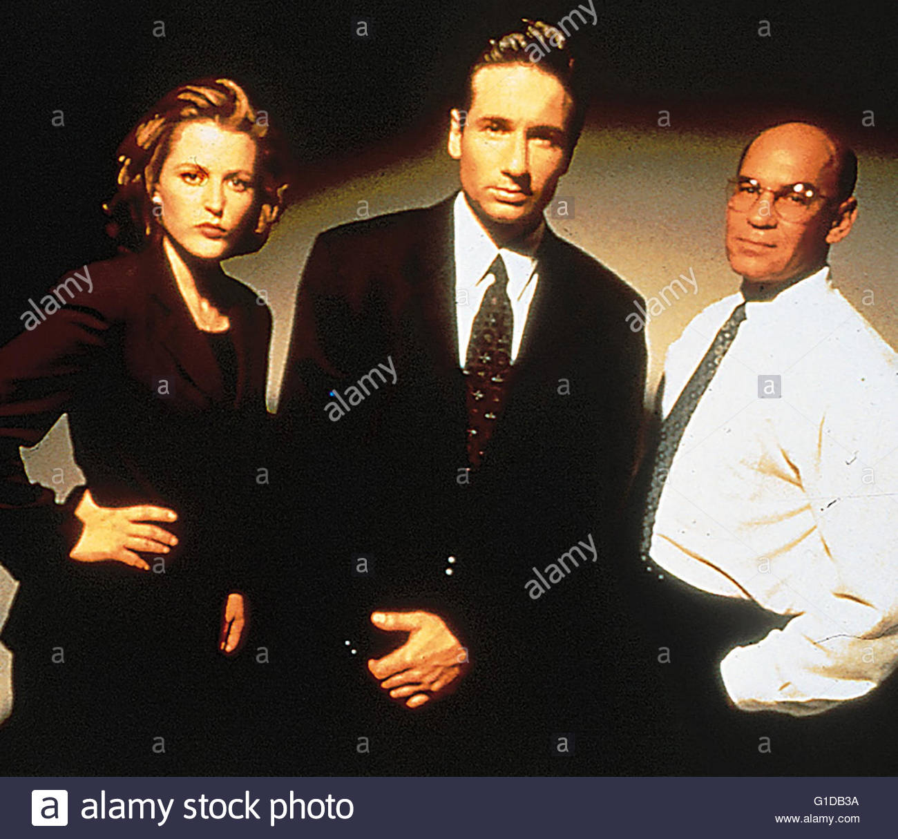 Akte X - Die Entführung / Gillian Anderson / David Duchovny / Akte X - Season  Collection / The X-Files, - Stock Image