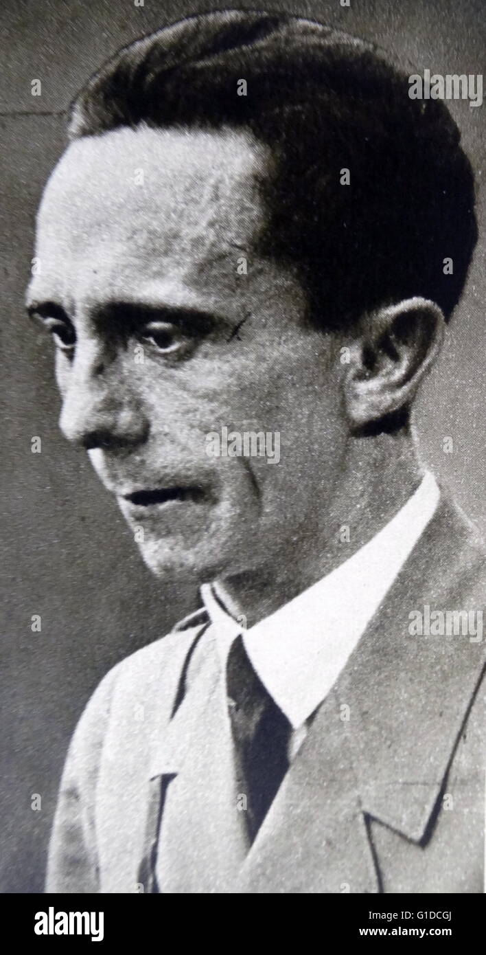 a biography of joseph goebbels a german politician Joseph goebbels paul joseph goebbels was a german politician and reich minister of propaganda in nazi germany from 1933 to 1945 update this biography .