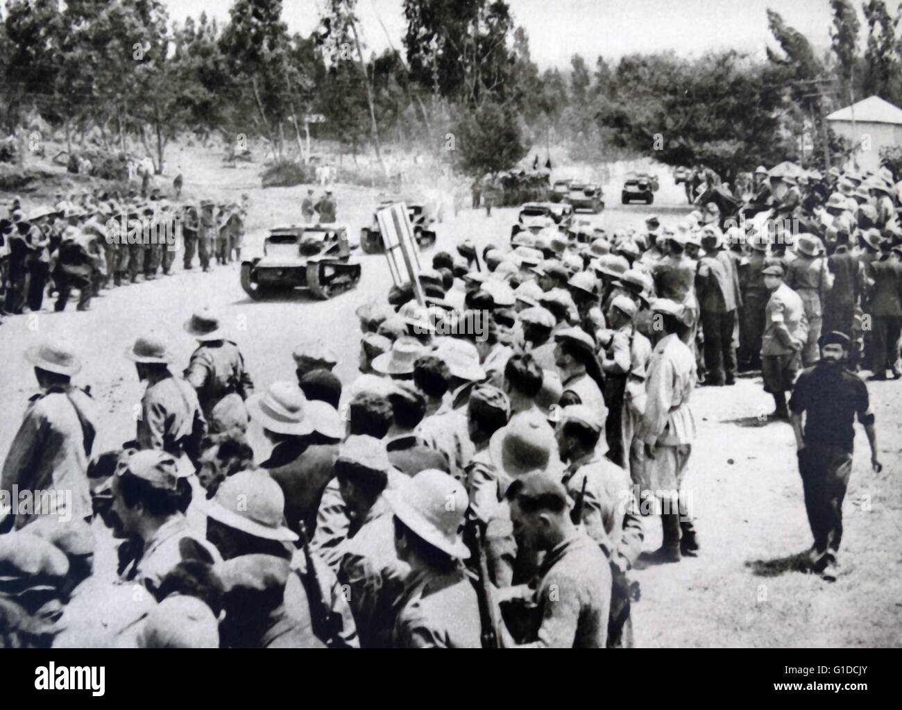 the italian invasion of abyssinia essay The italian invasion of albania (april 7-12, 1939) was a brief military campaign by the kingdom of italy against the albanian kingdom.