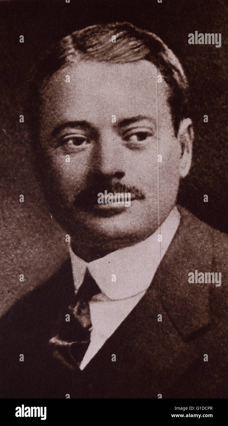 Louis Nathaniel de Rothschild; Austrian baron from the famous Rothschild family; 1938 - Stock Image