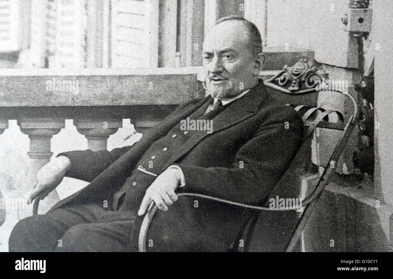 Russian Ambassador to Germany Nikolai Krestinski 1926 - Stock Image