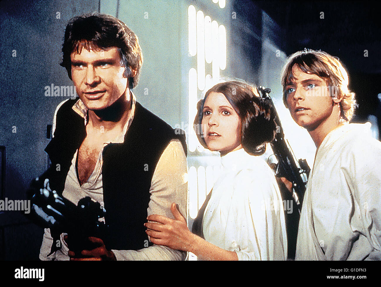 Krieg der Sterne - Special Edition / Harrison Ford / Carrie Fisher / Mark Hamill, - Stock Image