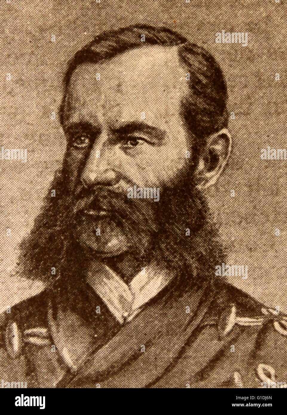 Field Marshal, Frederick Sleigh Roberts, Earl Roberts, (1832 – 14 November 1914). British soldier. He served in - Stock Image