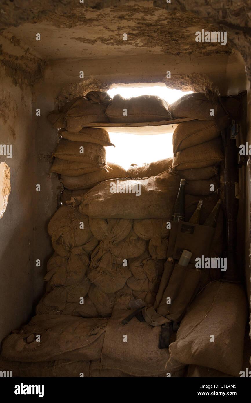 Ever since the so-called 'Islamic State' spread into Iraq and Iraqi Kurdistan the Kurdish Peshmerga forces - Stock Image