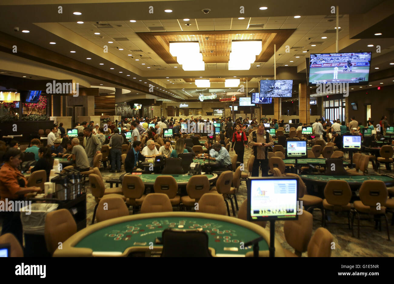 Los Angeles, California, USA. 18th Apr, 2016. The Gardens Casino in ...