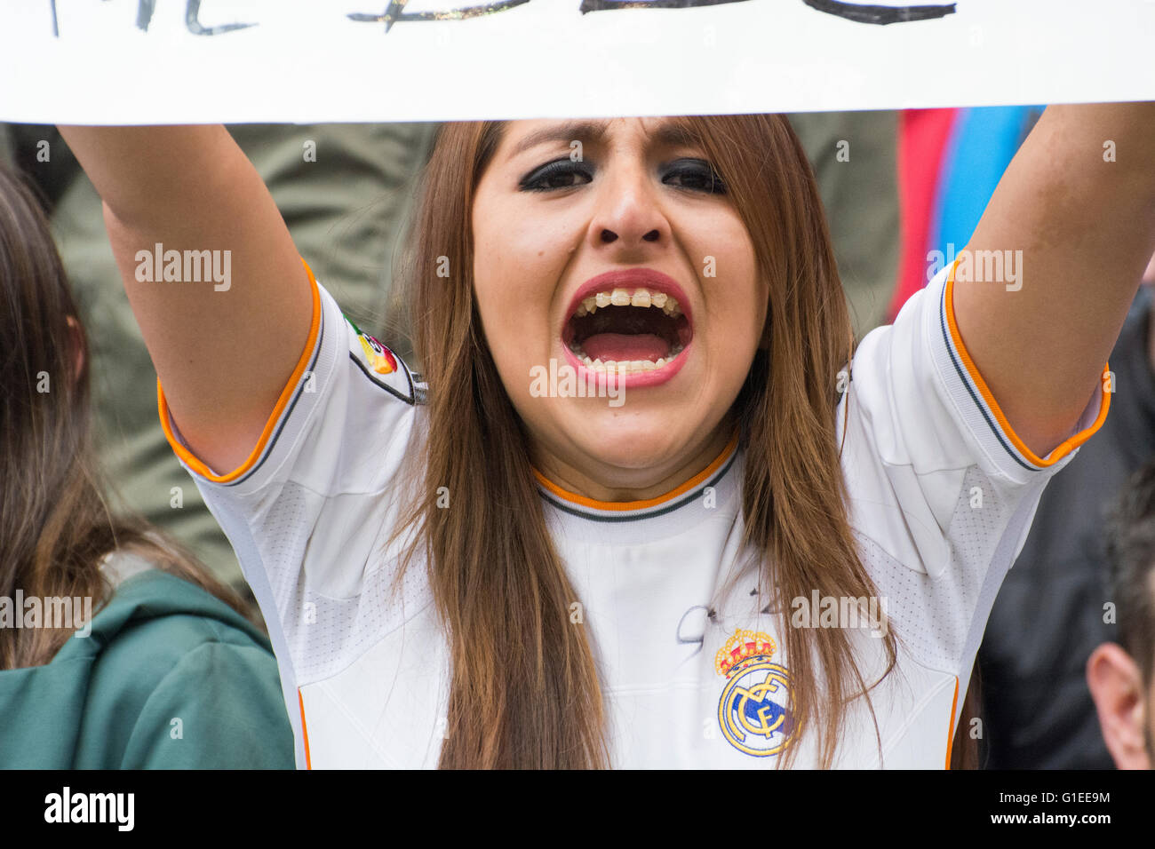 32d852095 Real Madrid Fan Stock Photos & Real Madrid Fan Stock Images - Alamy