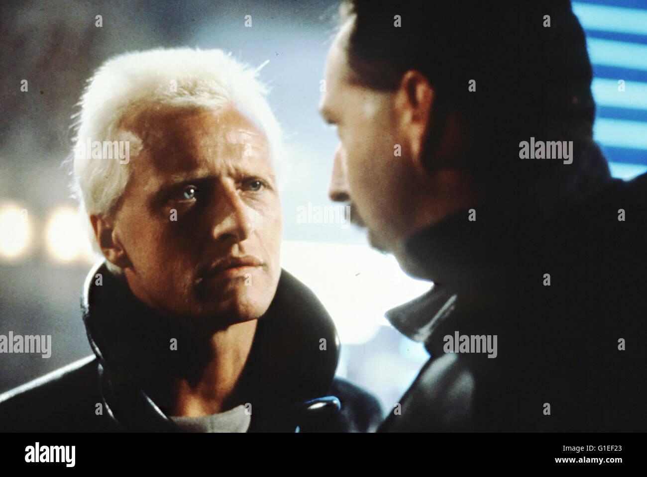 Blade Runner / Rutger Hauer / Blade Runner (Director's Cut) - Stock Image
