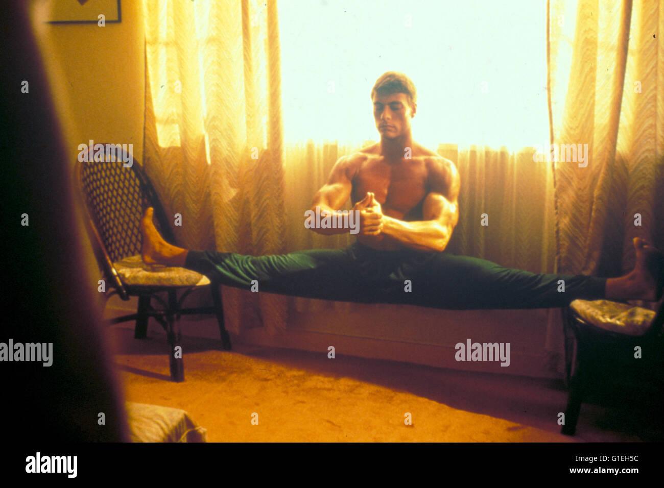 Bloodsport / Jean-Claude Van Damme, - Stock Image
