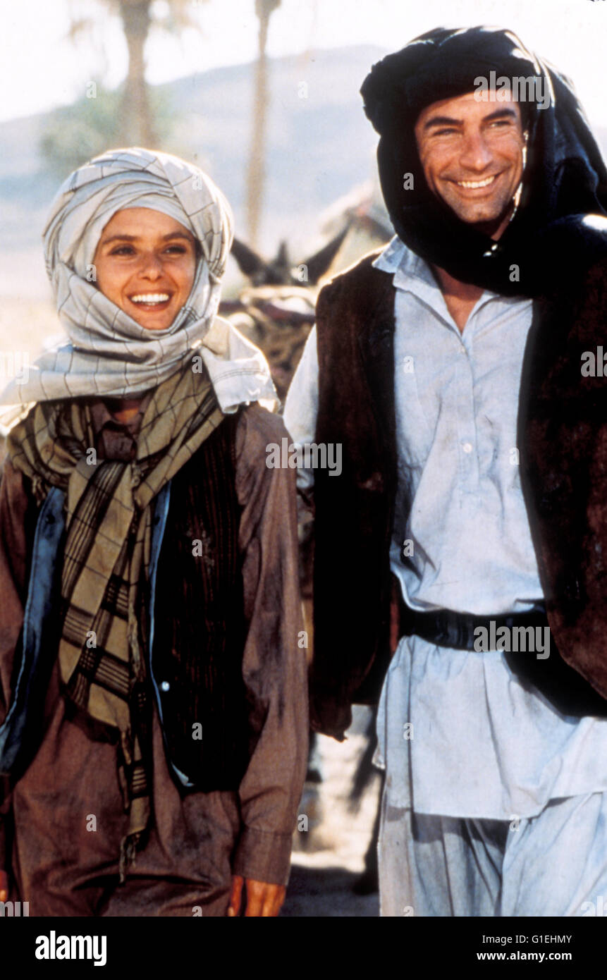 James Bond : Der Hauch des Todes / Maryam D'Abo / Timothy Dalton / Living Daylights, The, - Stock Image