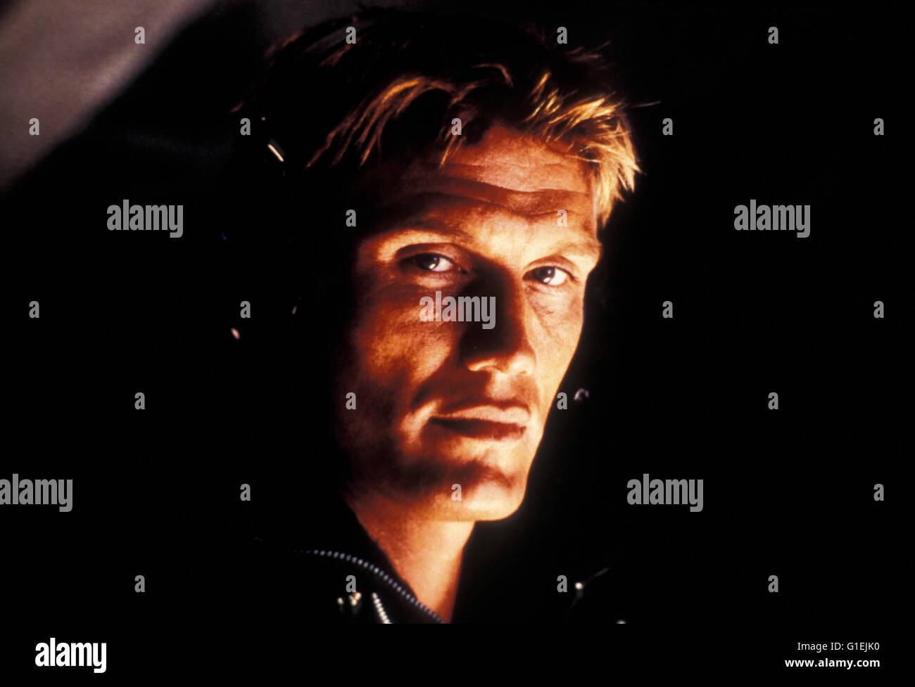 Silent Trigger / Dolph Lundgren - Stock Image