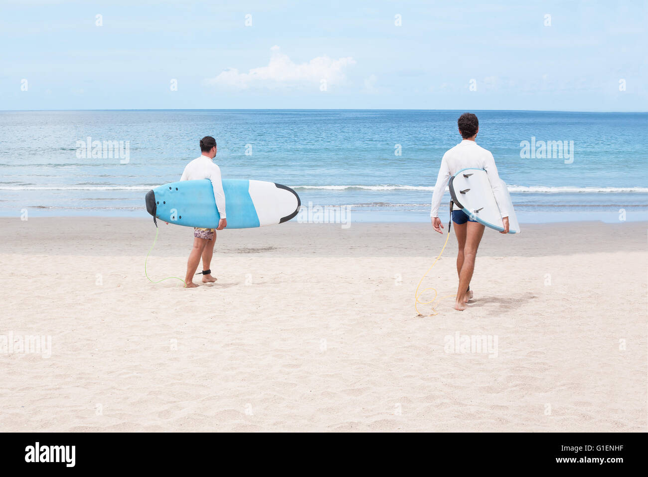 Ready for surfing - Stock Image