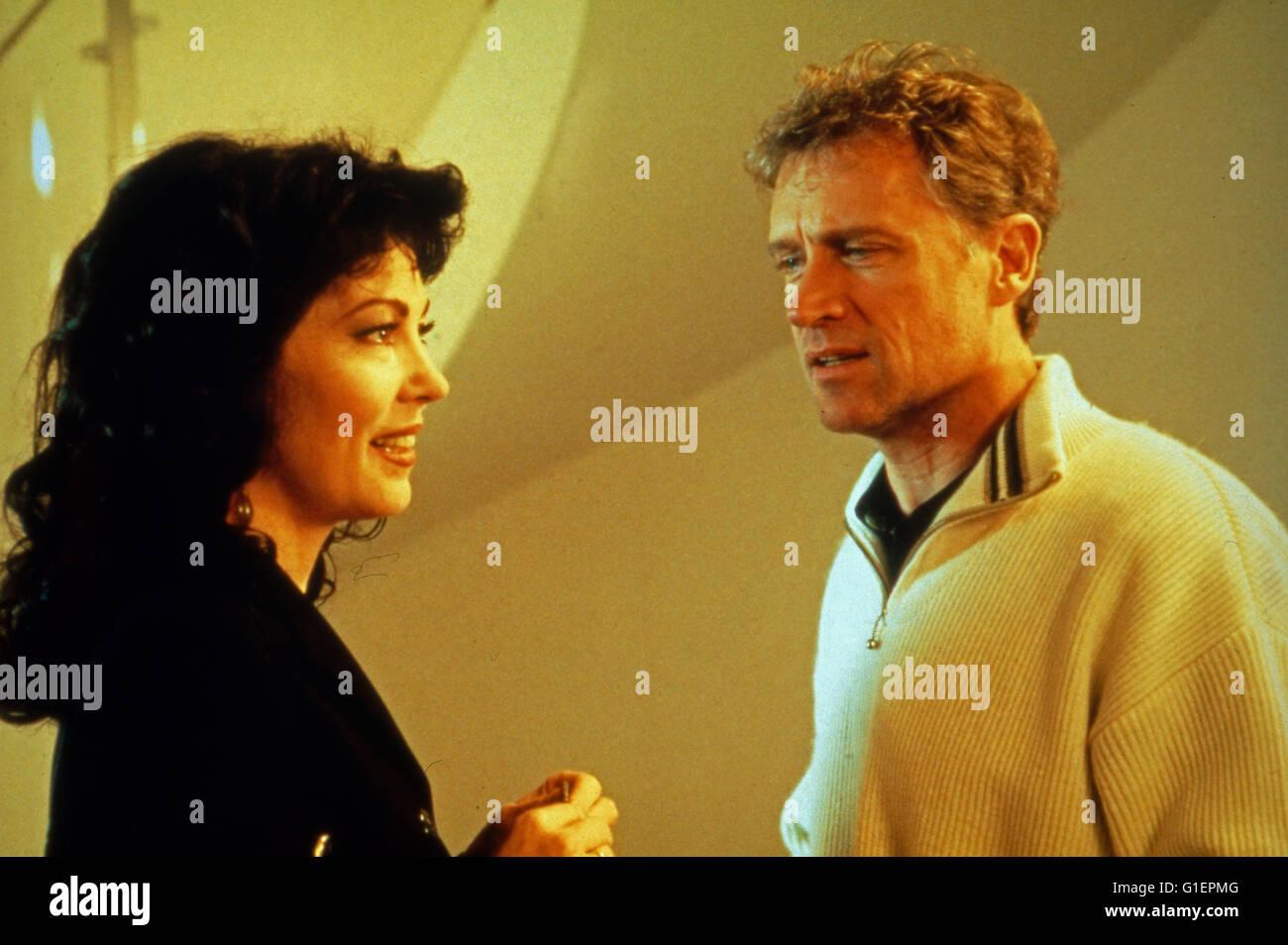 Ein Mann für meine Frau, Fernsehfilm, Deutschland 1993, Regie: Hartmut Griesmayr, Darsteller: Iris Berben, - Stock Image