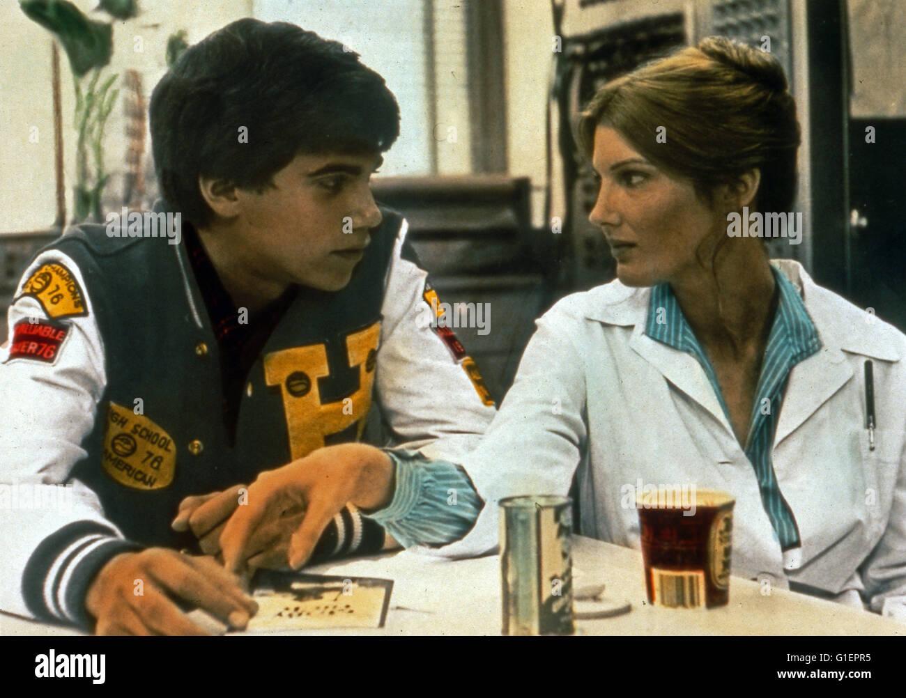One on One, aka: Mann, Du bist Klasse!, USA 1977, Regie: Lamont Johnson, Darsteller: Robby Benson, Annette O'Toole Stock Photo