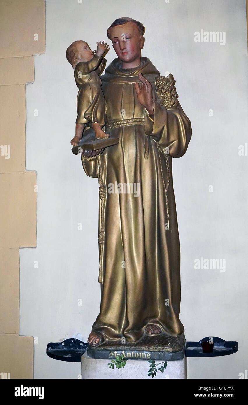 Saint Antoine Daniel 1601–1648 a Jesuit missionary - Stock Image