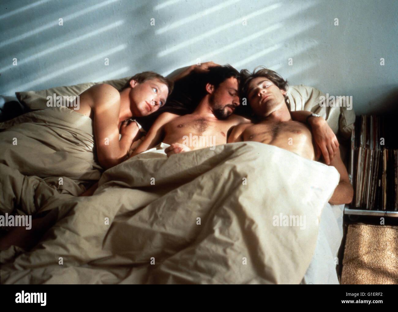Eine Liebe wie andere auch, Deutschland 1983, Regie: Martin Ripkens, Hans Stempel, Darsteller: (v. l.) Stuart Wolfe, - Stock Image