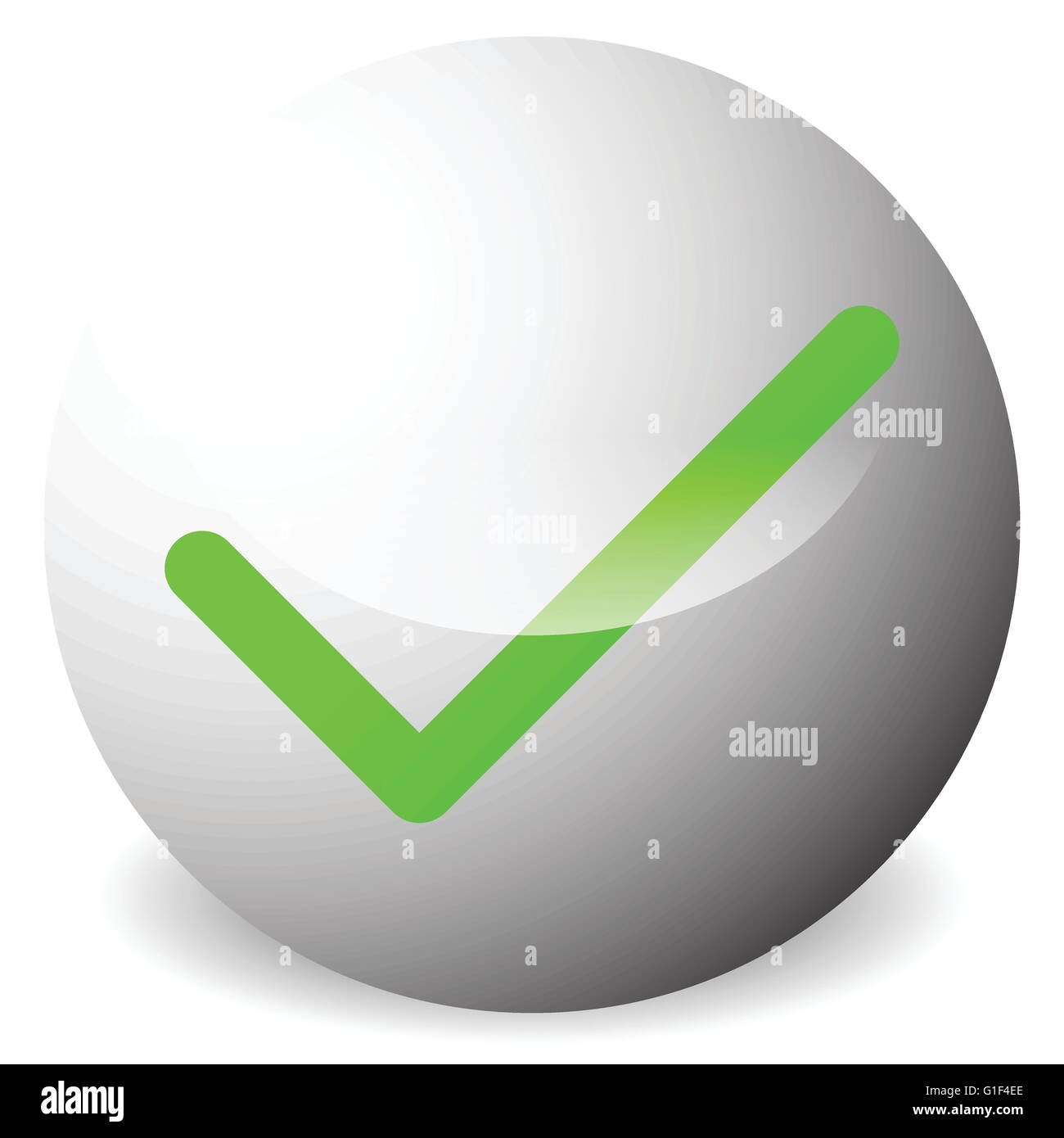 Circle With Tick Check Mark Symbol Approve Correct Accept Right