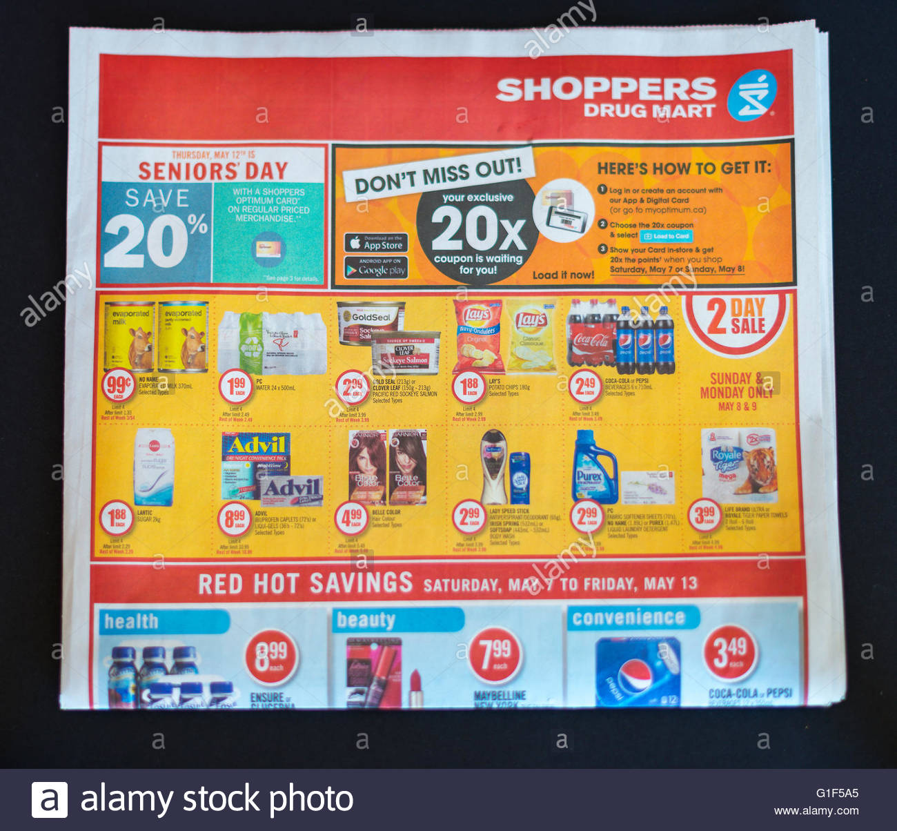 Shoppers Drug Mart flyer The flyer culture: commercial