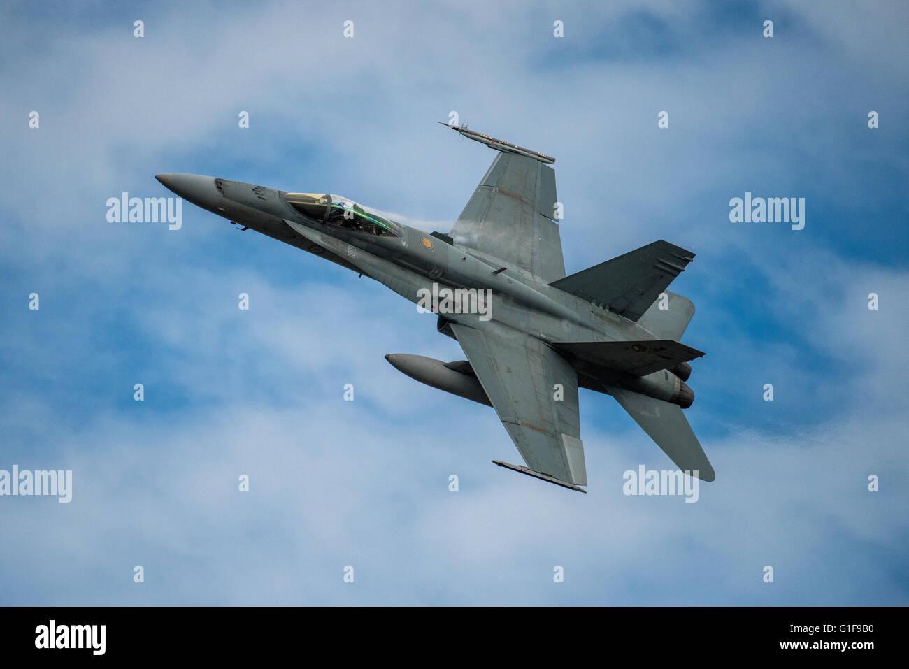 RAAF, F-18A aircraft - Stock Image