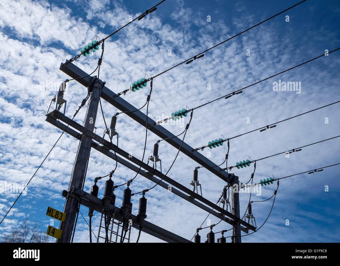 Power distribution - Stock Image