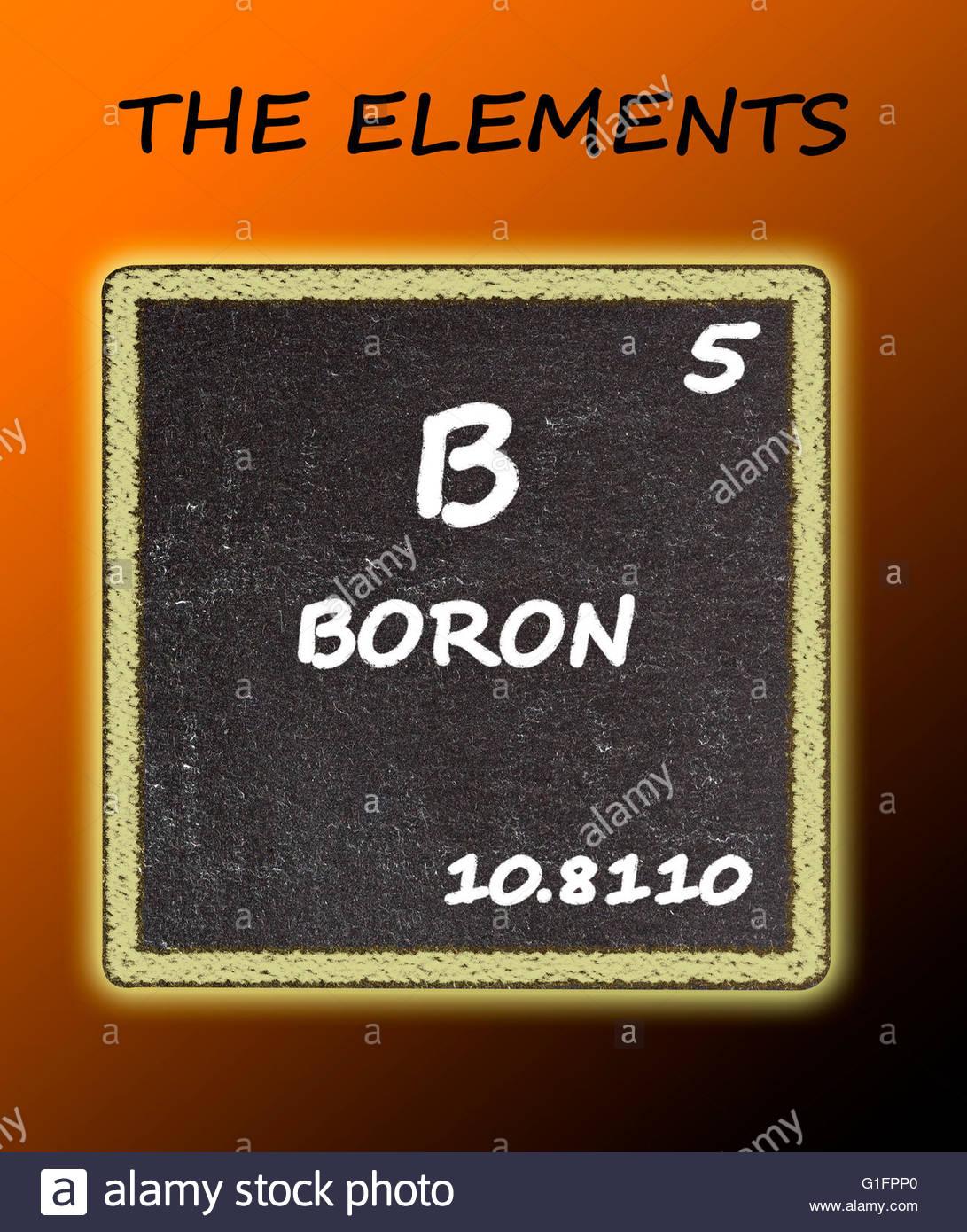 Boron Element Stock Photos Boron Element Stock Images Alamy