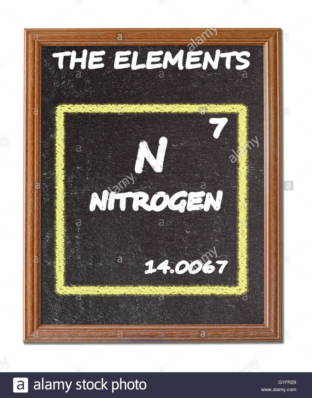 Nitrogen details from the periodic table stock photo 104224241 nitrogen details from the periodic table urtaz Gallery