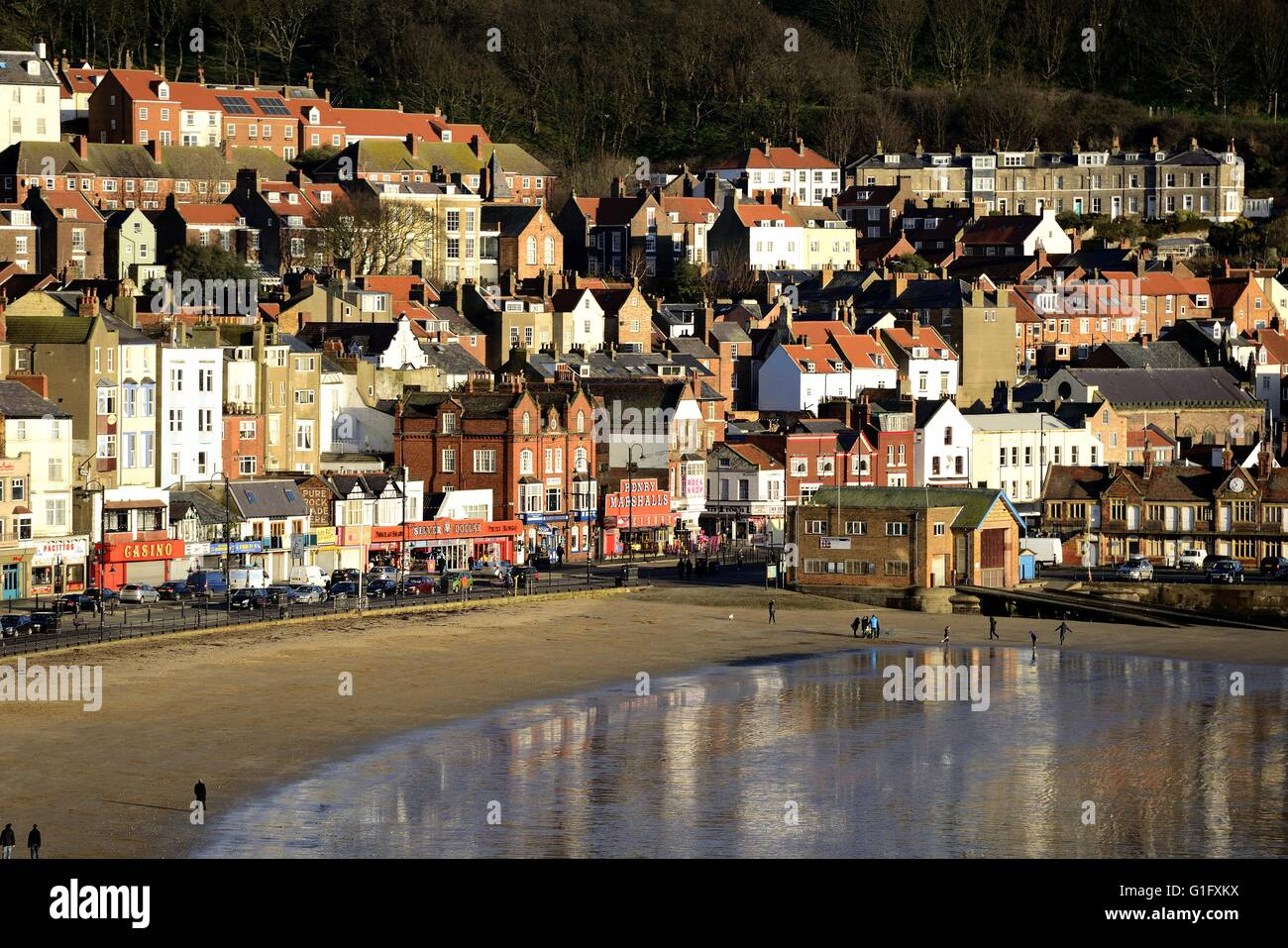 Scarborough South Beach - Stock Image