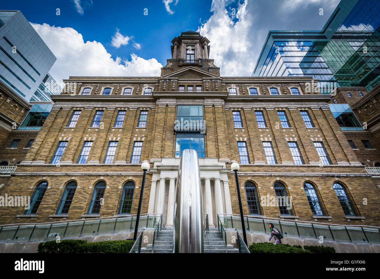 The MaRS Centre, in the Discovery District, Toronto, Ontario. - Stock Image