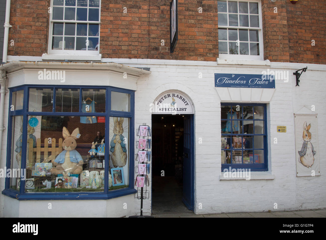 Timeless Tales, Henley Street, Stratford Upon Avon, England, UK - Stock Image