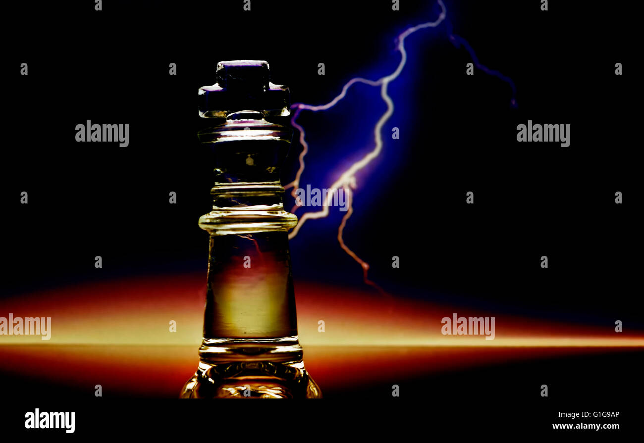 Illustration of chess piece. - Stock Image