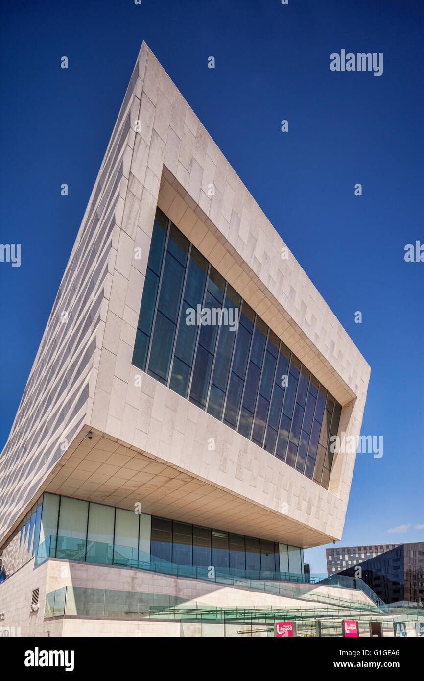 Museum of Liverpool, Pier Head, Liverpool, England, UK, by 3XN - Stock Image