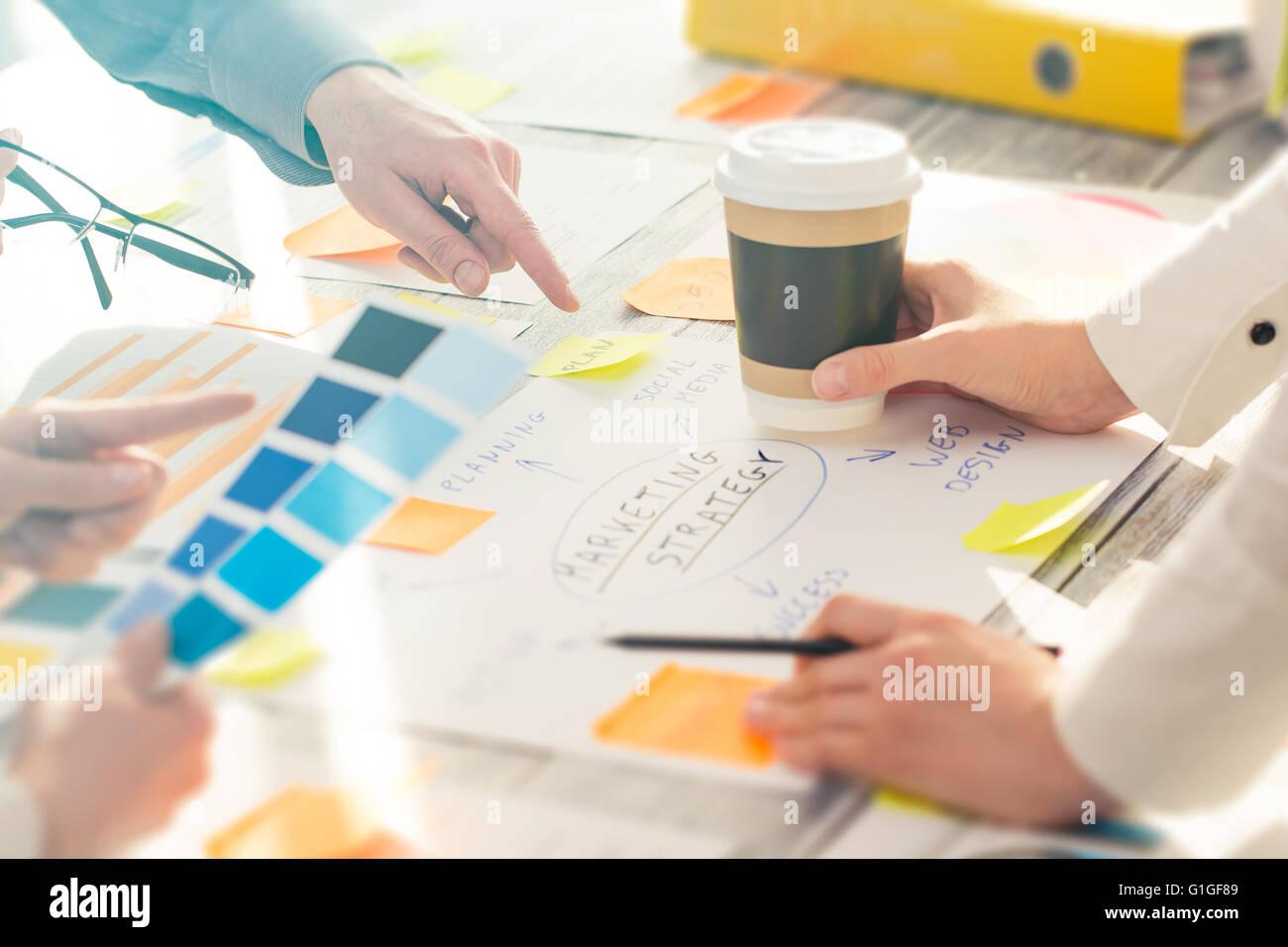 Brainstorming Brainstorm Business People Design Planning - Stock Image