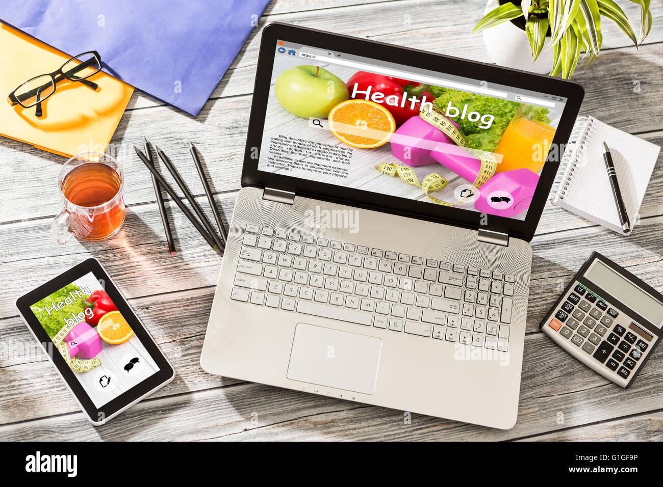 Blog Weblog Media Digital Social Dictionary Online Concept - Stock Image - Stock Image