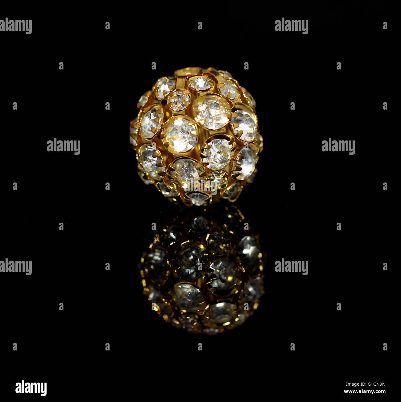 The golden jewel - Stock Image