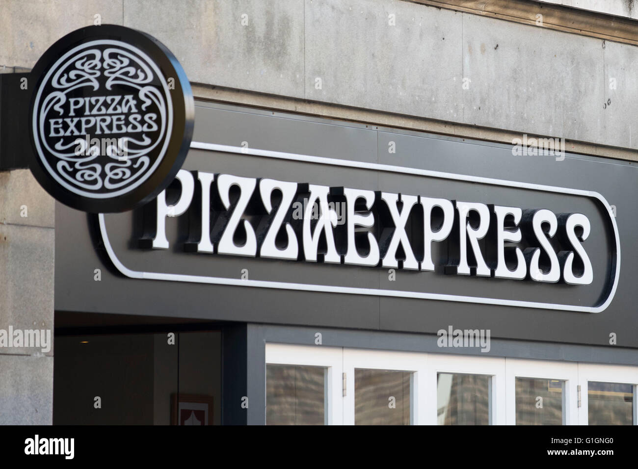 Pizza Express Branding Stock Photos Pizza Express Branding