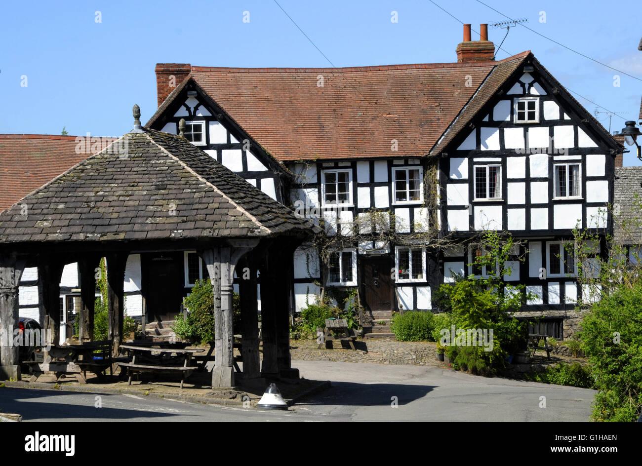 The Village Hall, Pembridge, Herefordshire, UK - Stock Image