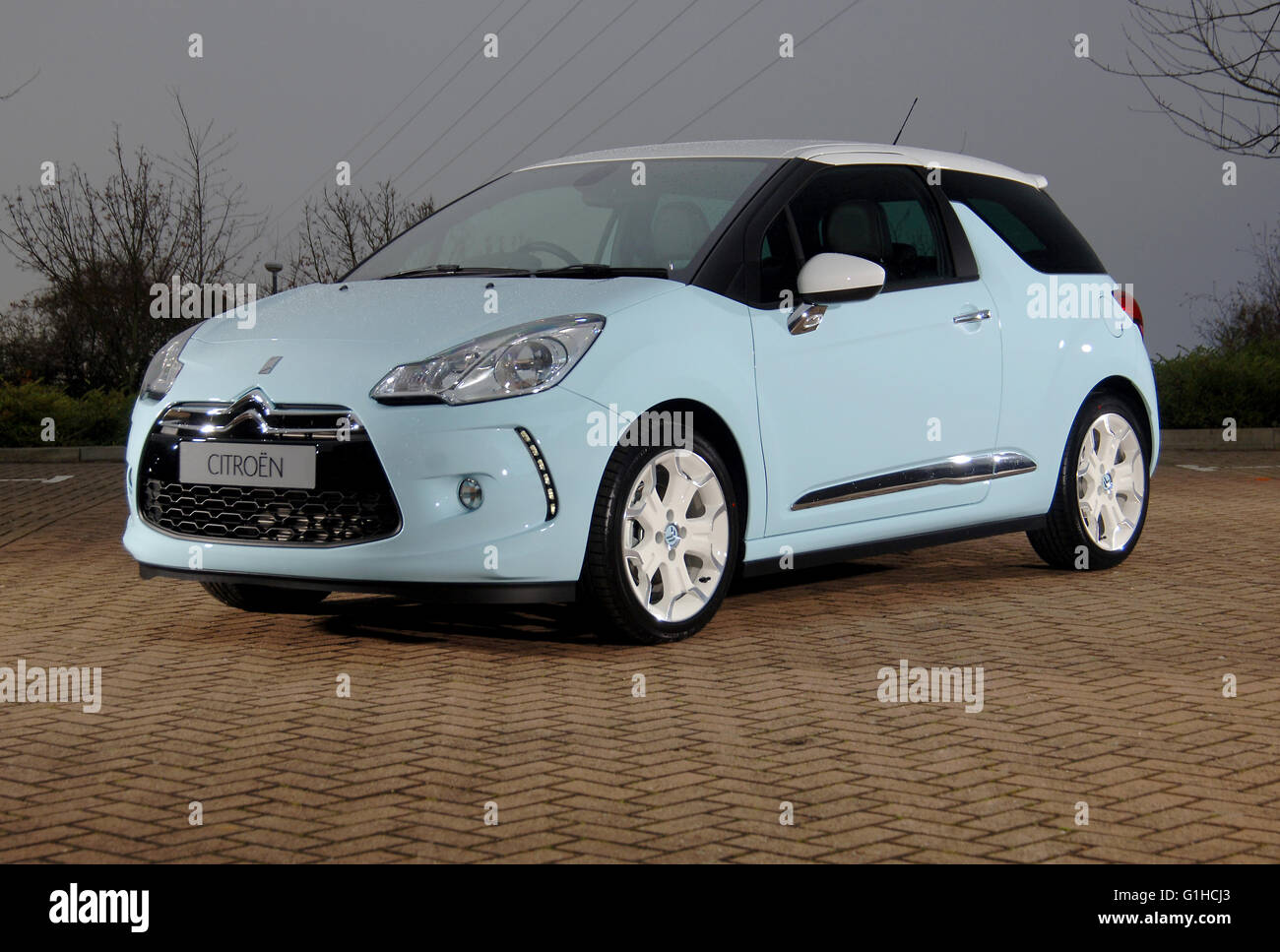 2009 Citroen DS3 sporty  French hatchback car - Stock Image