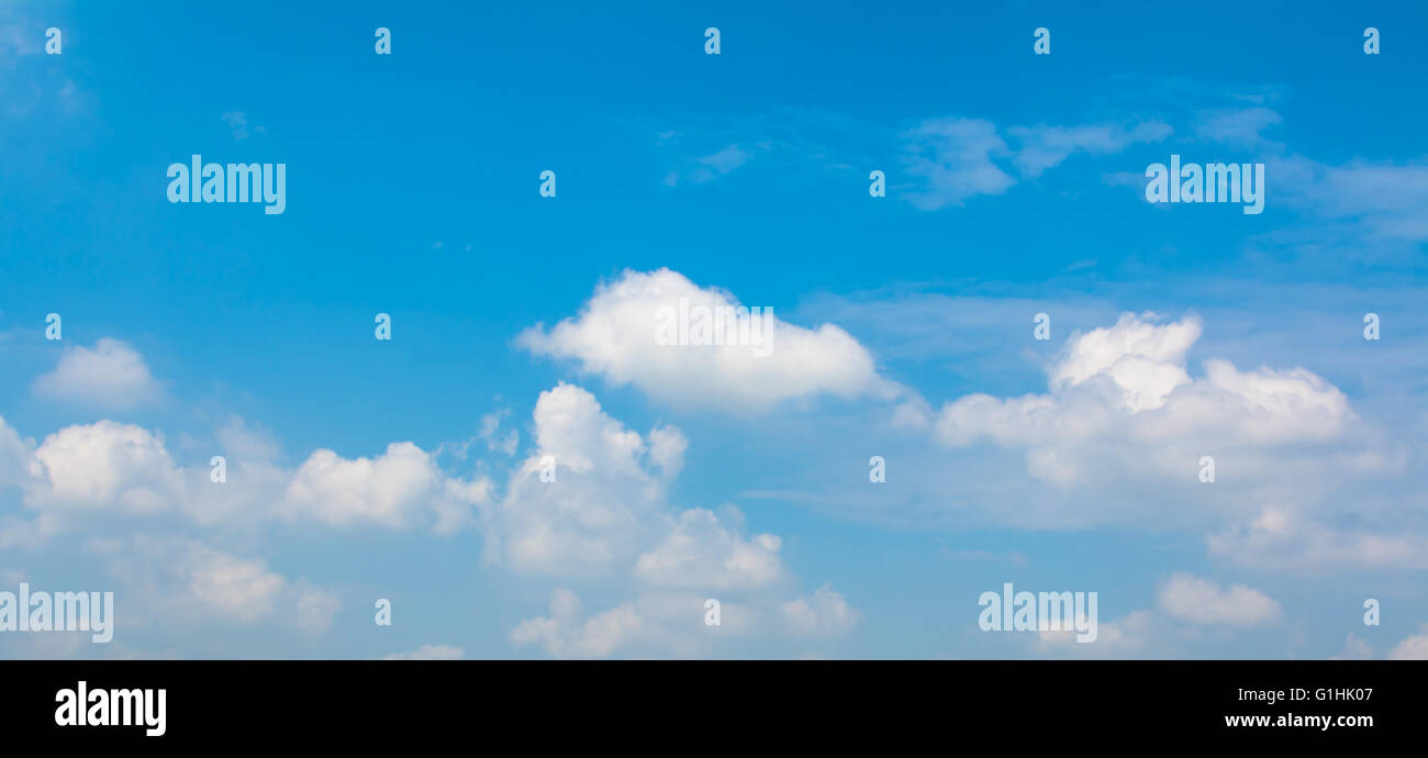sky and clound - Stock Image