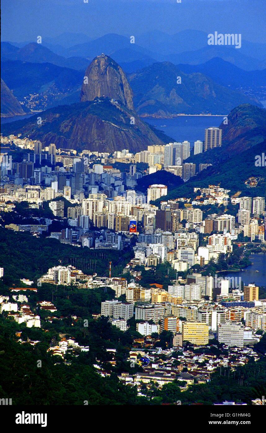 vista chinesa tijuca national park rio de janeiro brazil Stock Photo
