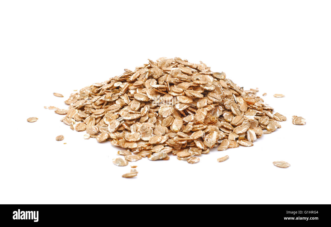oatmeal cereals Stock Photo