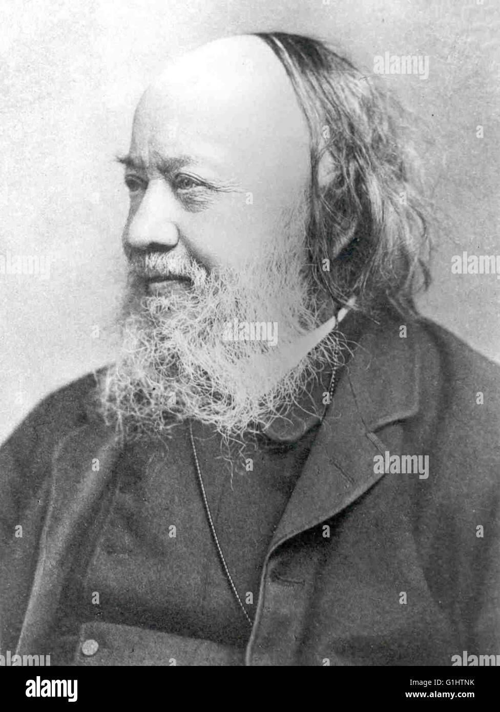 Sir Edwin Chadwick, English social reformer - Stock Image