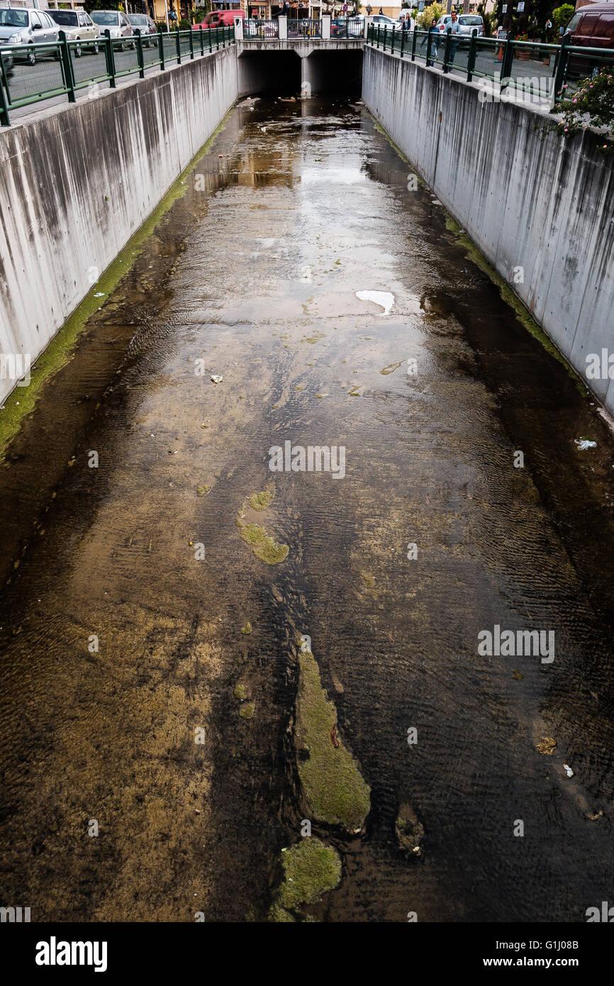 Water way - Stock Image
